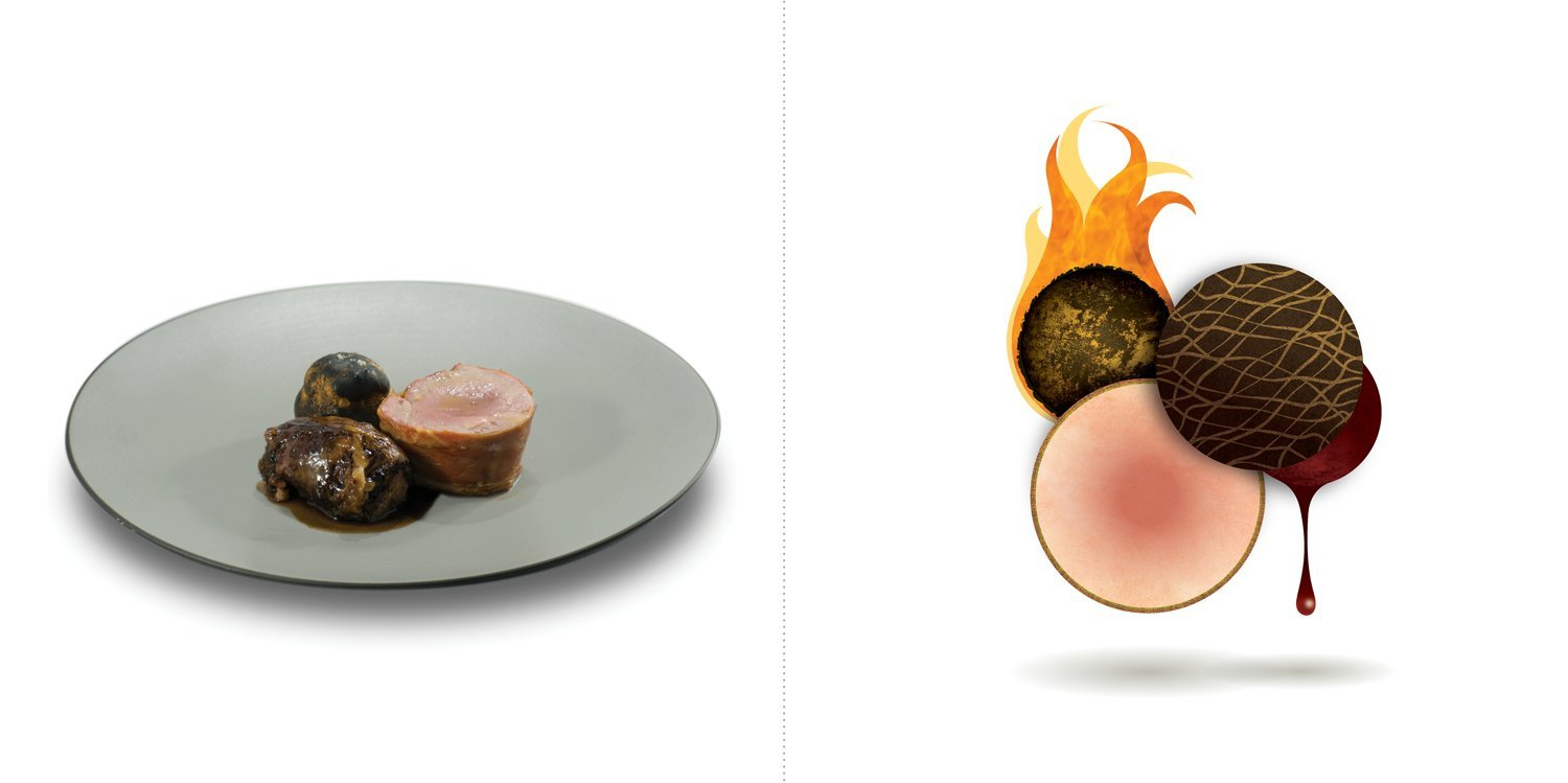 Sublime food design piatti Eugenio Roncoroni