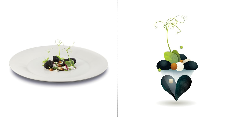 Sublime food design piatti Felice LoBasso