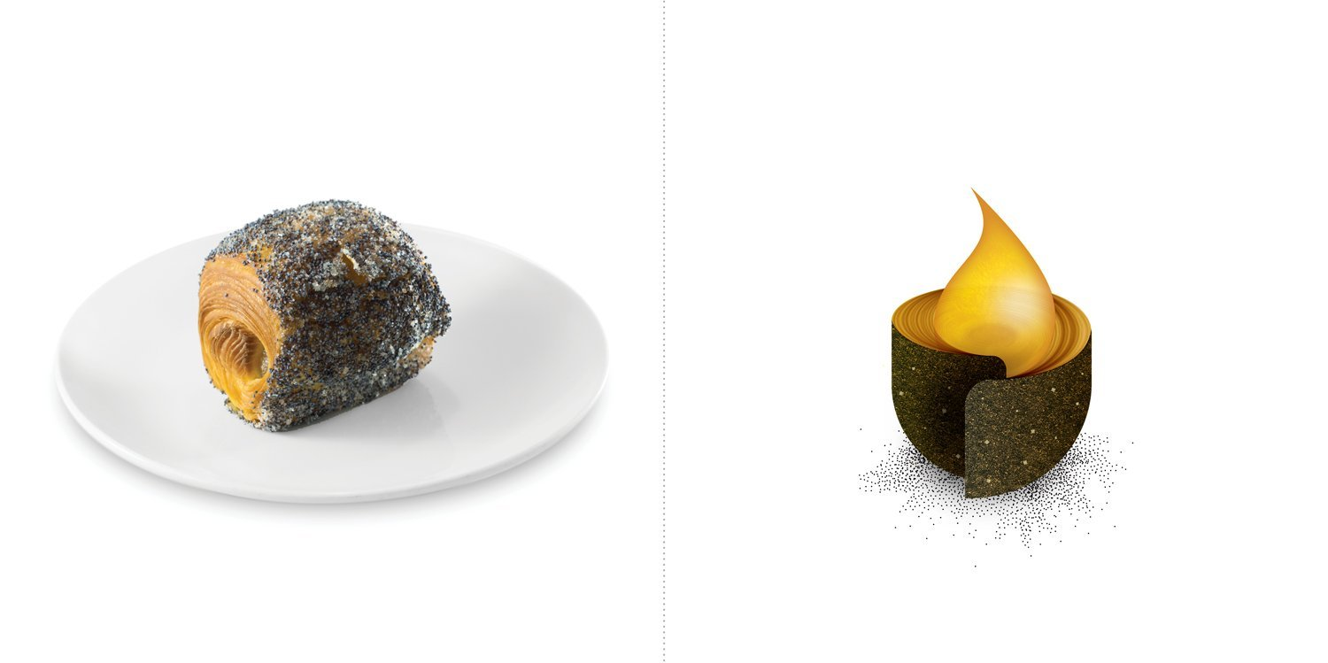 Sublime food design piatti Giovanni Giberti