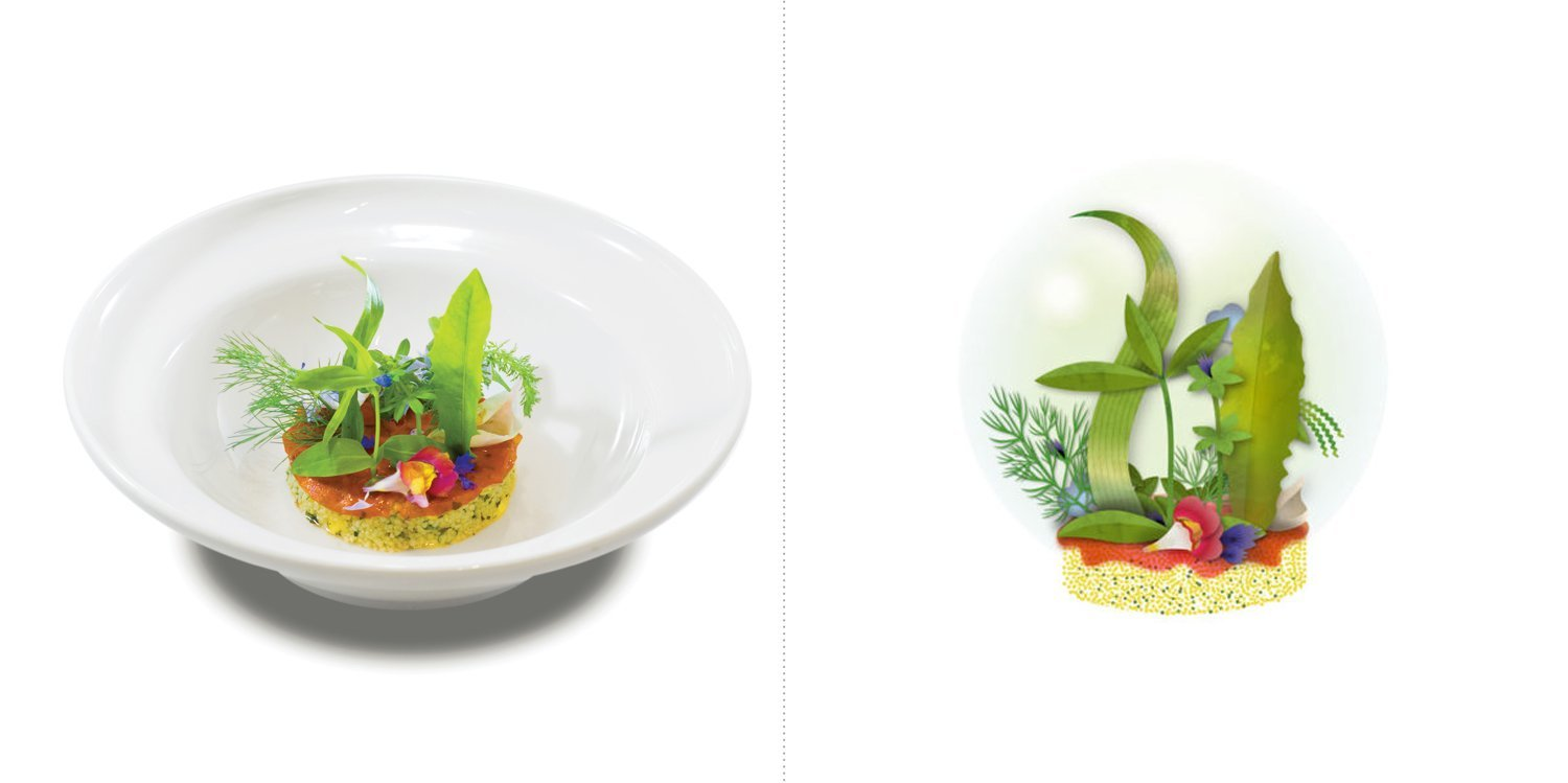 Sublime food design piatti Pietro Leemann
