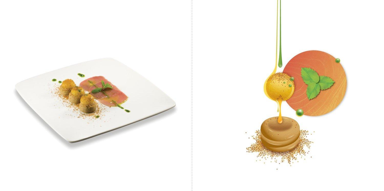 Sublime food design piatti Tano Simonato