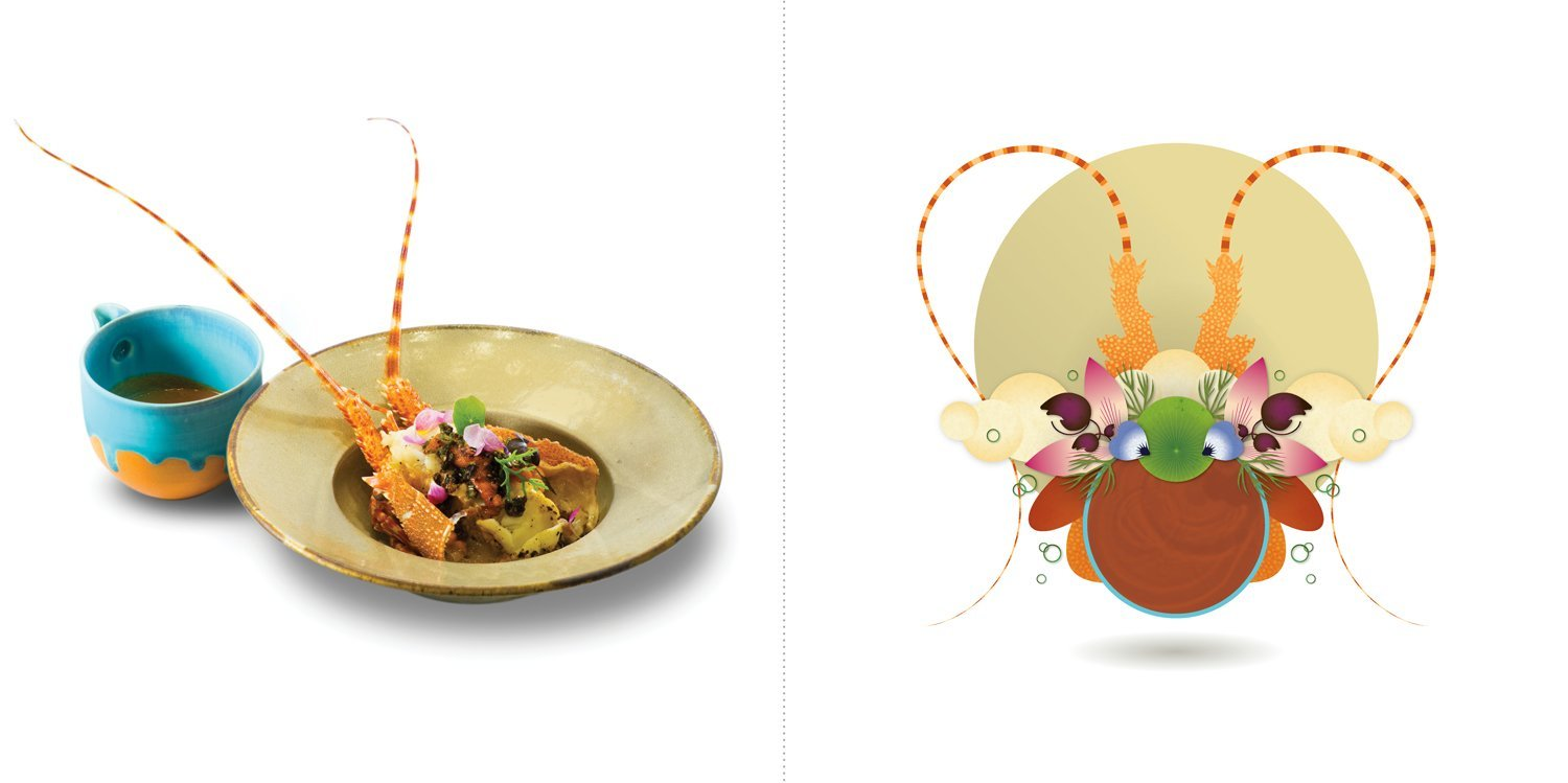 Sublime food design piatti Wicky Priyan