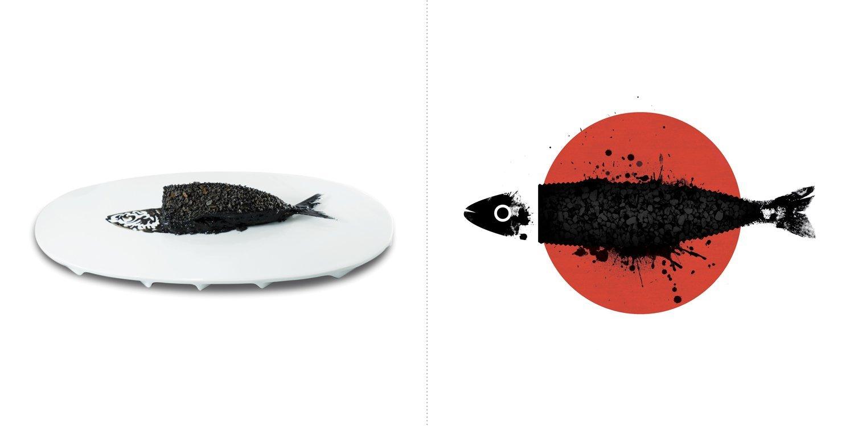 Sublime food design piatti Yoji Tokuyoshi